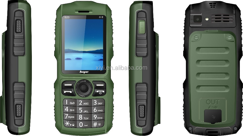 2016 high quality factory price mobile phone Hope S23-1 with rugged case rugged mobile phone 4g new arriving rmq5018