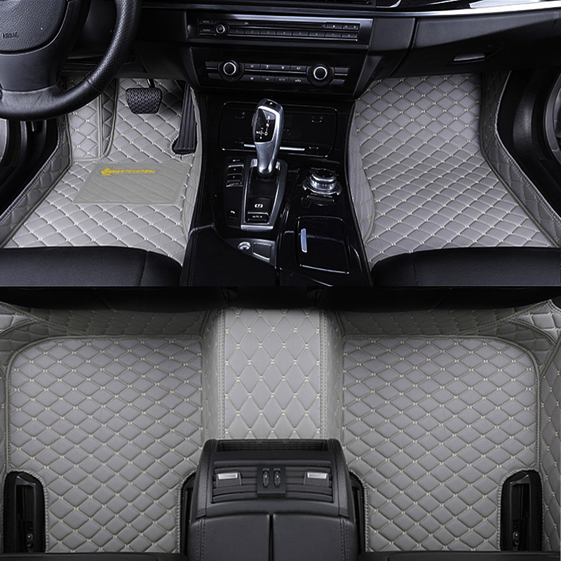 Factory Wholesale Customized Leather Car Carpet Floor Mat