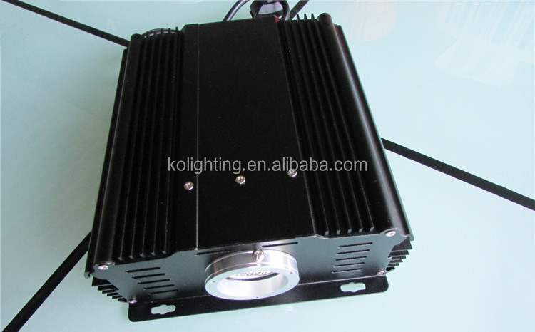 Twinkle color changing 45W LED fiber optic light projector for starry sky celing and curtain