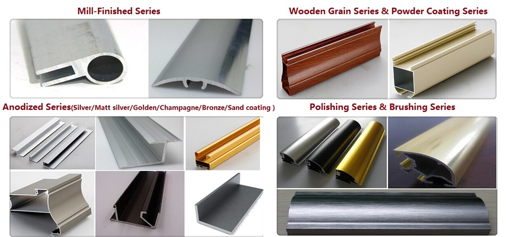China Aluminum Window Profile Sections To Make Window And Door ...