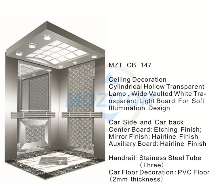 Lift Elevator Elevator Cabin Mzt Cb 147 Arched Roof Elevator Cabin Buy Arched Roof Elevator