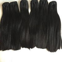 Kinky curly seamless clip in hair hair extensions virgin hair 2*6 middle part lace closure new fashion Kim k straight