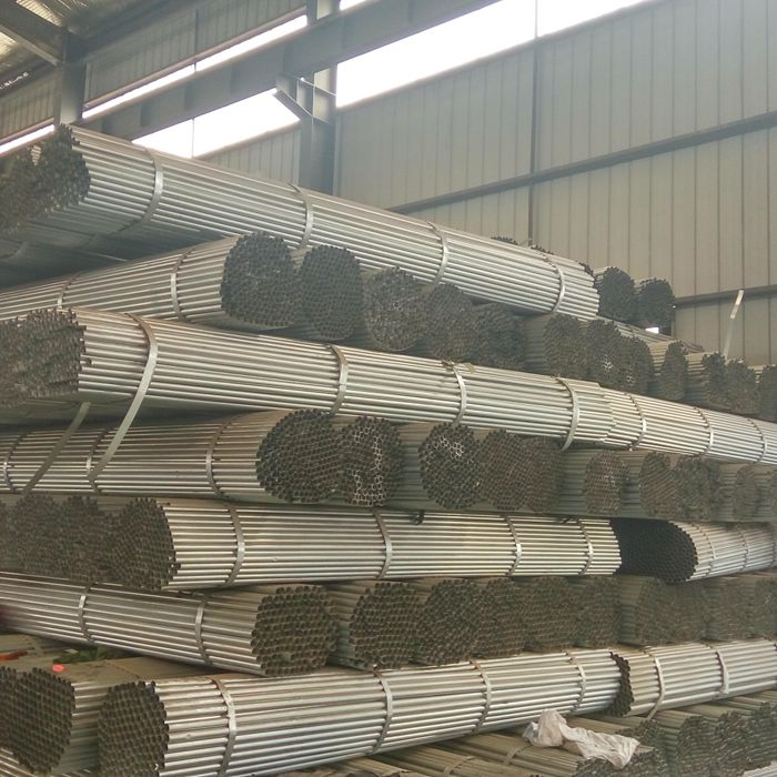 ASTM A500 Gr.B bs1387 hot rolled electro galvanized steel pipe