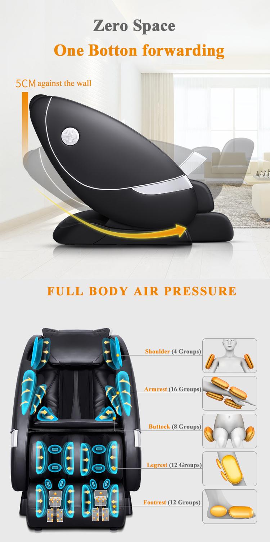 ราคาถูก full body air sac นวดเท้ากลับนวดความร้อนเก้าอี้
