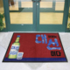 China Mat Price Heavy Duty Fire Proof Logo Floor Door Mat
