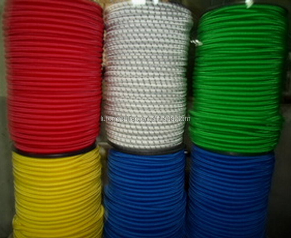 Bright 100m Rolls Of Luggage Elastic Bungee Rope Shock Cord Tie Down Marine Rope Climbing & Caving All Colours