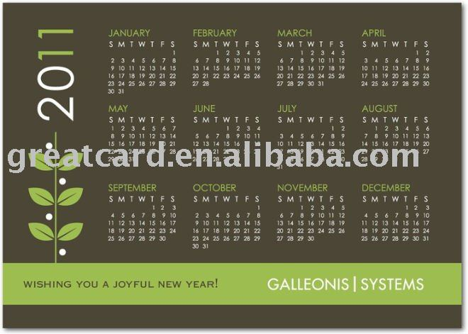 Calendar Business Cardsource Quality Card From