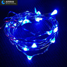 DC12V led teardrop christmas lights with GS UL and SAA adapter