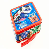 2014 New design christmas favors apple mobile phone rectangular tin box for packing