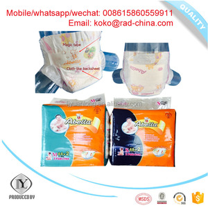 China Diaper Manufacturer HIGH Absorption Breathable Nice cloth cheap price BABY DIAPER