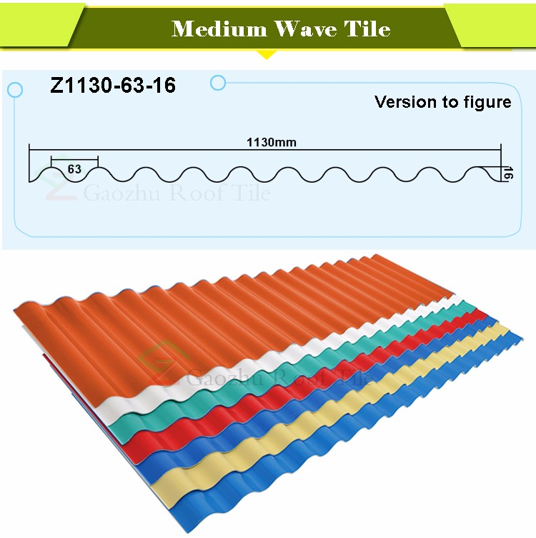 2017 Iso Certificate Plastic Pvc Roofing Materials Upvc