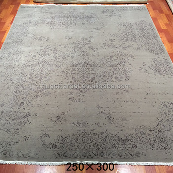 8x10ft Handmade Chinese Wool Rugs Manufacturers Cheap Silk