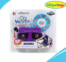 2015 Good Selling 3D View Master See a Sport Set Show