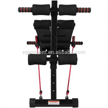 New T Shape Frame Adjustable Hyperextension Bench Indoor Sports
