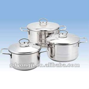 FH-287 6PCS Stainless steel Cookware