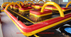 Amazing inflatable traffic track for go karts , inflatable race track playground ce14960
