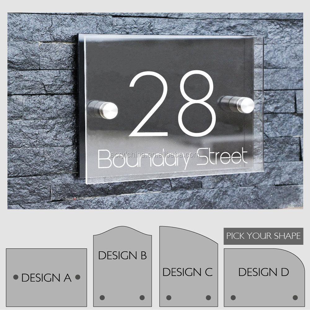 Modern Design House Numbers Modern Design