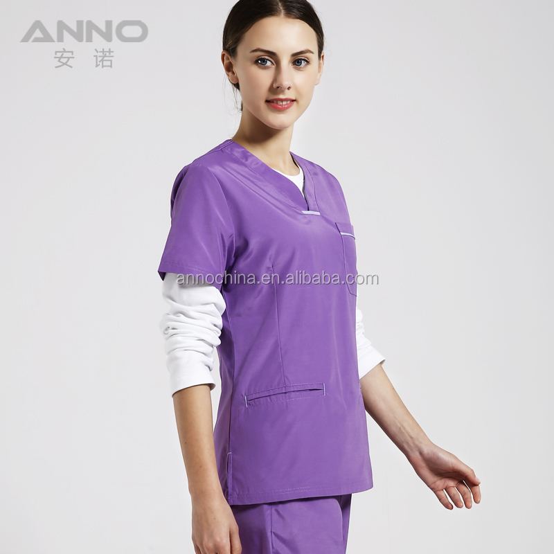 71756d09ca2 Anno Black Women Medical Scrubs China / Hospital Ot Scrubs Suits ...