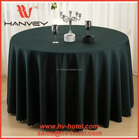 Factory price cheap eco-friendly hotel 132 round oriental beer burlap tablecloth