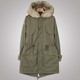 Women Long Model Wool Parkas Warm Trench Fur Coat For Winter
