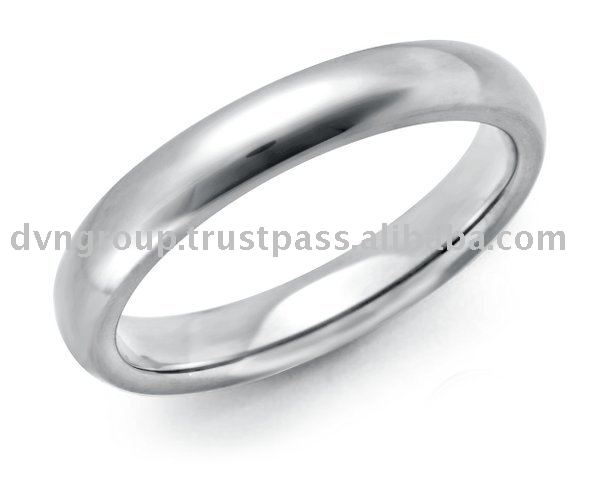 925 Sterling Silver Plain Band
