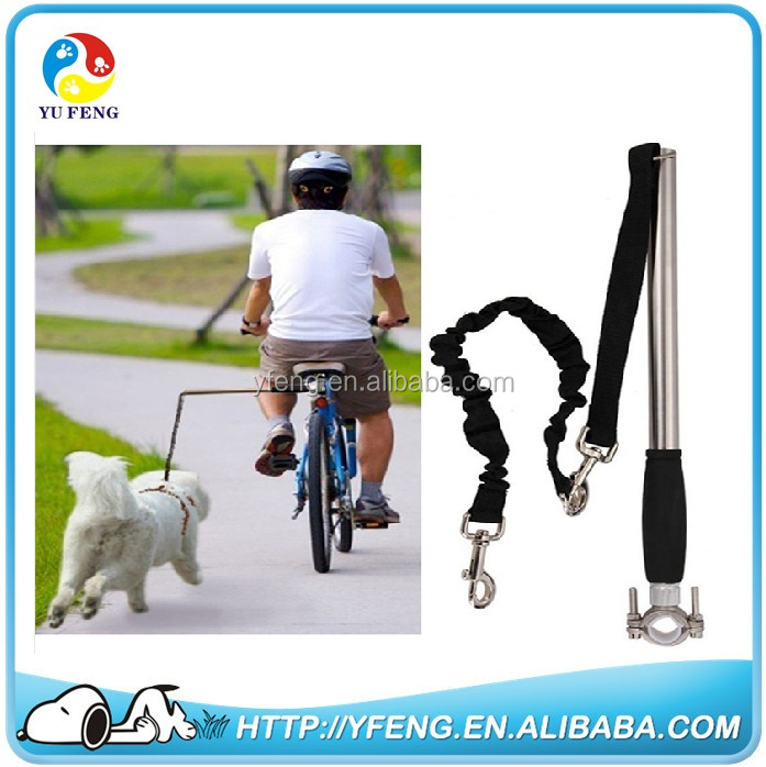 Bike Retractable Leash <strong>Dogs</strong> up to 44 lbs with hand free