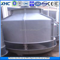 Water flow is 90m3 per hour Round counter current Cooling water tower price list