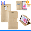 Mercury Goospery Flip Leather Case for LG G2 F320, High Quality Protective Wallet Leather Cover for LG G2