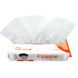 IDORE Ultra-Soft&Skin-friendly Virgin Wood Pulp Baby Facial Tissue Soft Pack