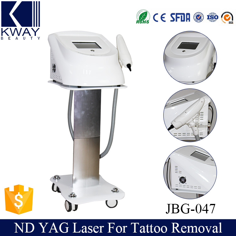 Newest nd yag q switch laser tattoo removal machine for salon use