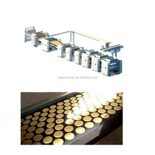 Multifunctional biscuit complete production line / waffle automatic cookies making machine