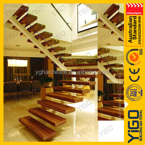 Steel Wood Staircase, Steel Wood Staircase Suppliers And Manufacturers At  Alibaba.com
