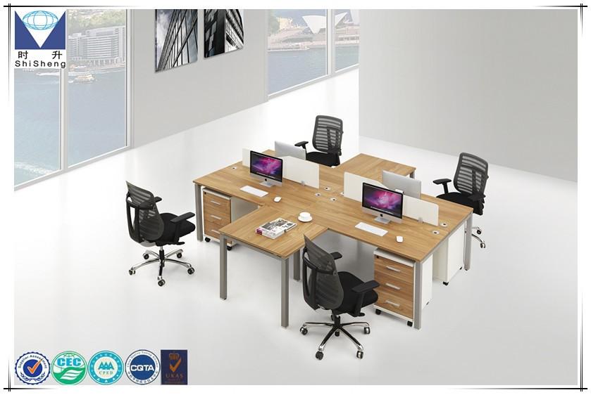 Moderno mobiliario escritorio de oficina peque a mesa de - Mesas ordenador pequenas ...
