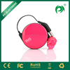 PATENT retractable new design mobile phone headphone with microphone