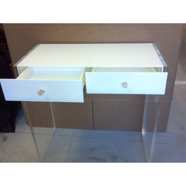 Superieur Acrylic Vanity Personal Desk Dressing Table   Buy Acrylic Dressing  Table,Modern Dressing Table,Table With Drawer Product On Alibaba.com