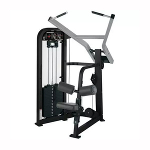 Commercial gym machines fitness equipment lat pull down back extension machine