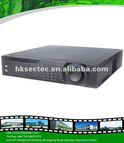 8/16/32ch Analog and IP 2U h.264 network dvr