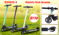 2017 New Design Aluminum Alloy 6 inch Self Balancing Electric Scooter