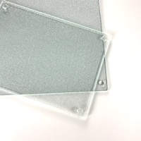High Quality New Design Clear Glass Tempered Glass Cutting Boards in Kitchen