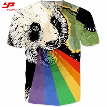 Wholesale 100% cotton sublimation digital printing popular design custom your own logo t shirts