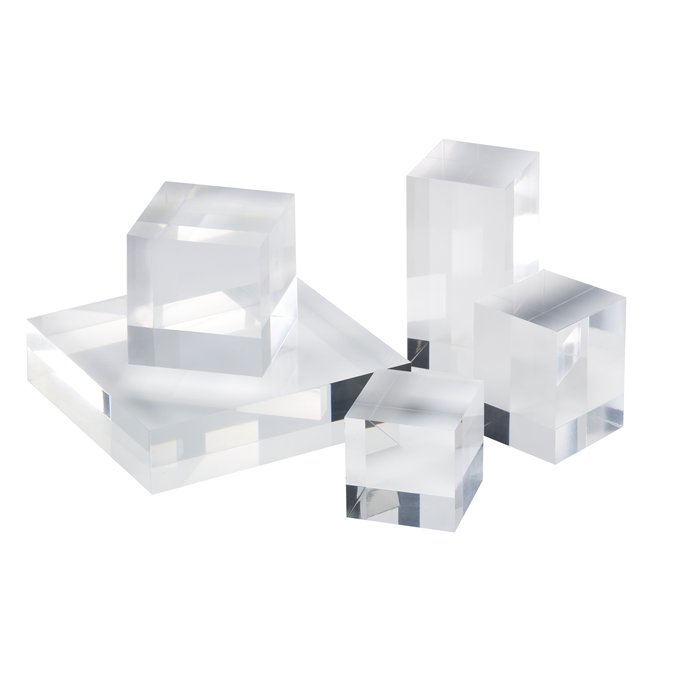 acrylic glass block