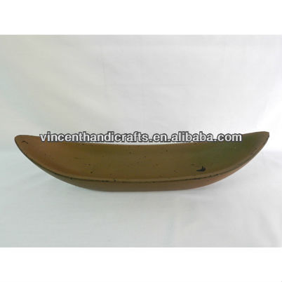 Vintage Distressed Boat Shape Wooden Candle Holder For Home Decoration - Buy Boat Wooden PlateWood Pillar Candle HoldersWood Craft Candle Holders Product ...  sc 1 st  Alibaba : wooden candle plate - pezcame.com