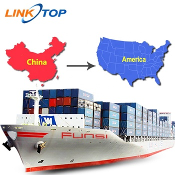 Cheapest Amazon forwarder sea freight shipping from china to usa
