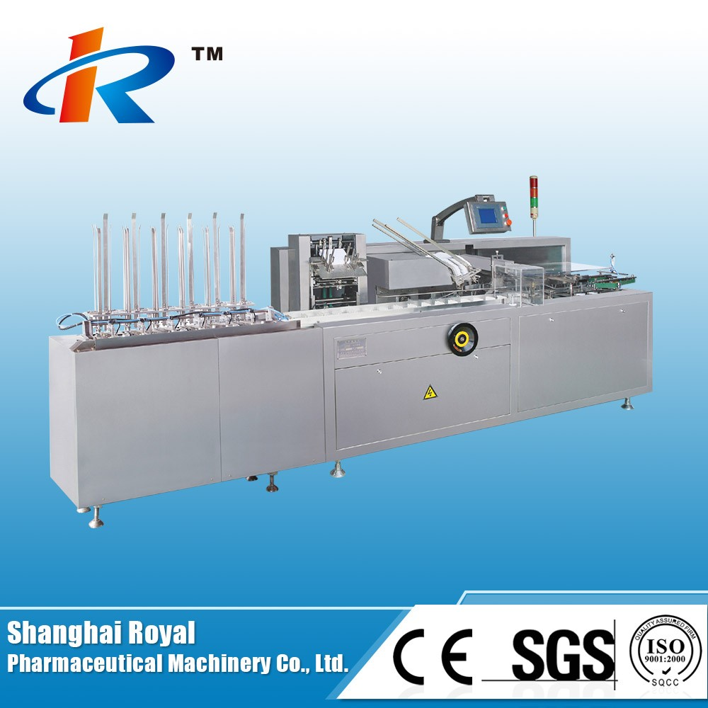 ZH-120 Horizontal Automatic Alu PVC Alu Alu Blister Cartoning Machine