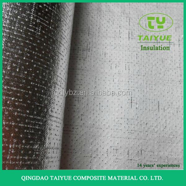 2017 papel de aluminio perforado cara de aislamiento de - Aislamiento fibra de vidrio ...