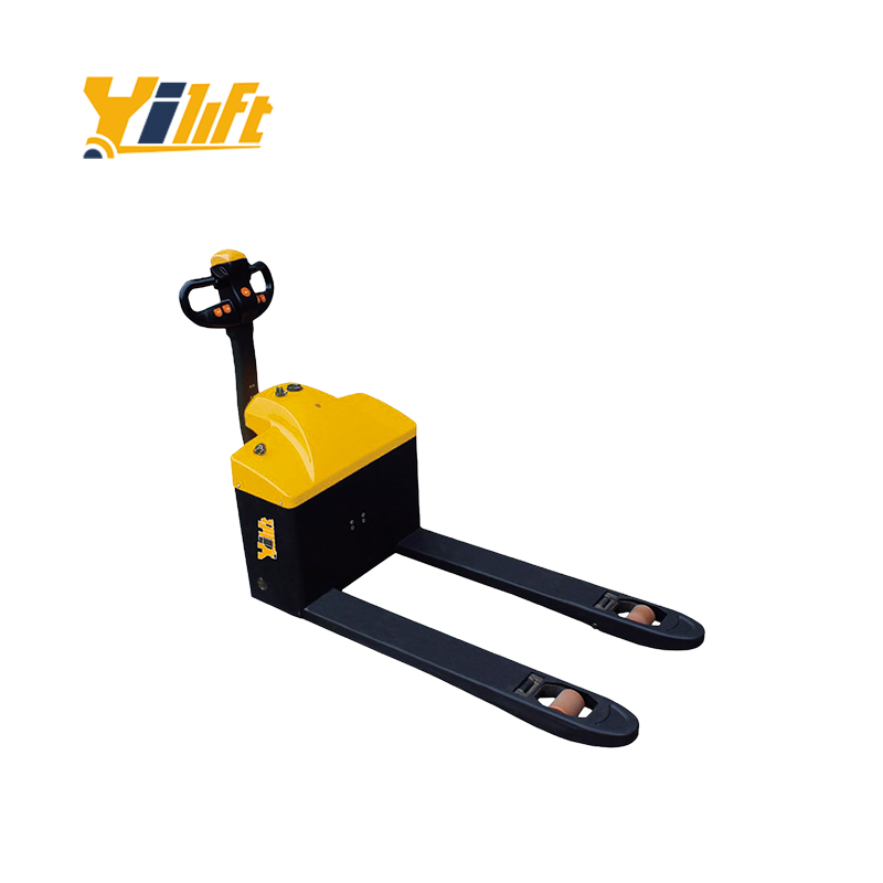 Fatory price 1500kg electric scissor high lift pallet truck