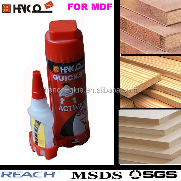 50ml mdf lijm cyanoacrylaat lijm activator 1500 cps plus 200 ml