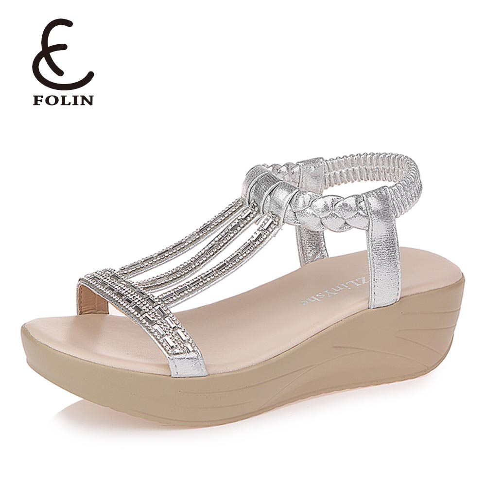 New model indian women juti shoes sandal Fancy diamond coloured leather sandals women