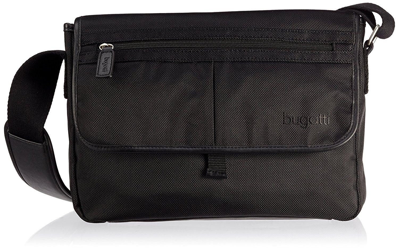 1c9faeb4c725 Get Quotations · Bugatti Off Road Slim Tablet Messenger Bag Black