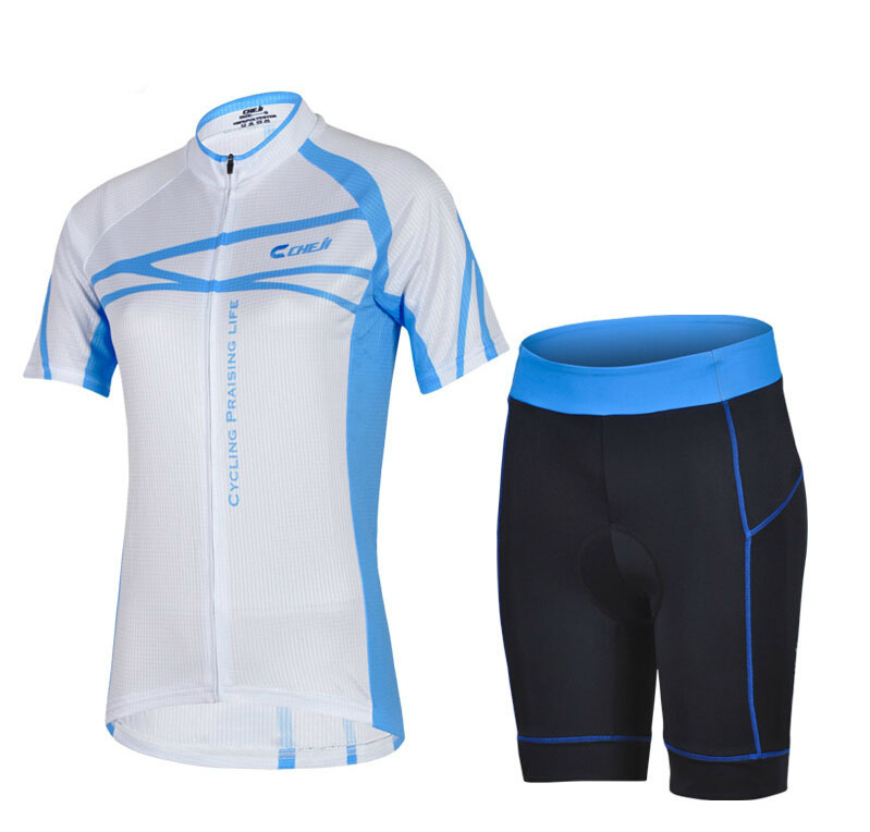 Get Quotations · 2015 New CHEJI Women Cycling Jersey Short Sleeve road MTB  Bike Jerseys Cool bicycle clothing Thermal b25d03011